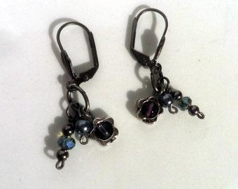 dangle Earrings, Multi-charm