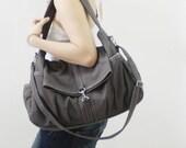 Shoulder Bag, Crossbody Bag, Tote, Sling Bag, Diapers bag, weekender, Travel Bag, Canvas Bag, Gift For Women - Kinies Classic - SALE 30% OFF