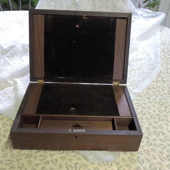Vintage Lap Desk 5 Compartments Late 1800 S To Early