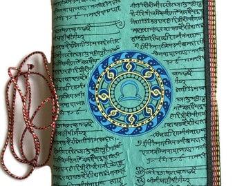 Libra Journal, Zodiac Gift, Astrological Gift, Handmade journal, Libra Horoscope, Visual journal, Writing Journal, October Birthday Gift
