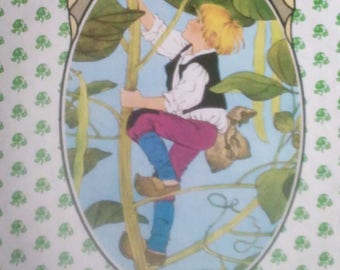 Jack and the Beanstalk By Gerda Muller, hardcover1988 1982 1984 1985