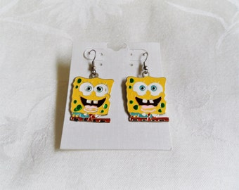 Spongebob Vintage Dange Earrings
