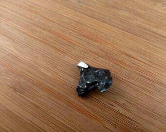 Campo Del Cielo Meteorite Silver Pendant