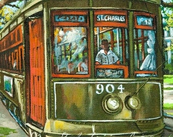 St, Charles No 904, FREE SHIPPING! New Orleans French Quarter Art, New Orleans Print, New Orleans Art,New Orleans Artist Dianne Parks