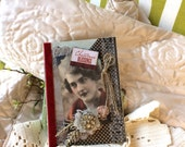 Vintage Victorian Christmas Card - Handmade Christmas Card