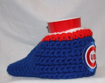 Ready to ship - Chicago Cubs Drink Mitt  - The mitten with the drink holder