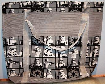 Storm Trooper Star Wars Vinyl mesh tote
