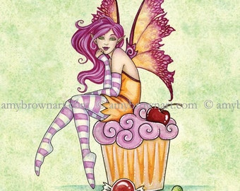 5x7 Sweet Tooth fairy PRINT by Amy Brown
