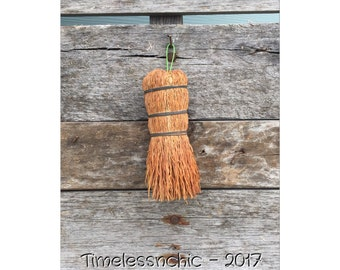 Whisk Broom - Whisk Pot Scrubber -Broom - Antique Whisk Broom - Primitive Broom - Old Whisk Broom - Primitive Decor - Vintage Whisk Broom -