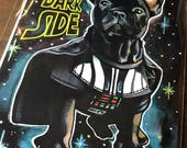 Come to the Bark Side (5x7 print)