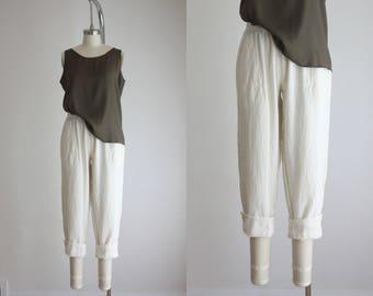 cotton gauze trousers