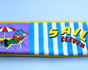 80s ///// Tom & Jerry Plastic Pencil Case