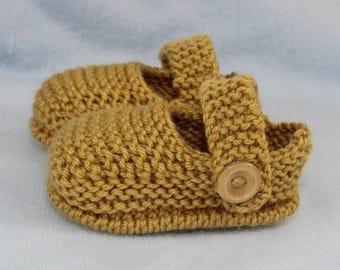50% OFF SALE Madmonkeyknits - Baby Simple Unisex Sandals knitting pattern pdf download - Instant Digital File pdf knitting pattern