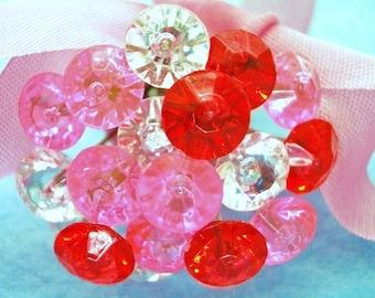 Corsage Crystal Pins - Sweet Treats - Set of 20