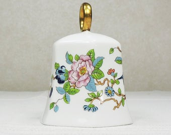 Vintage Bone China Bell, Made in England, Aynsley