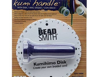 "Ergonomic Kumi Handle And 6"" by  10mm Disc"