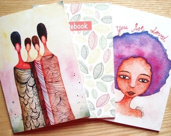Illustrated Notebook Deal - Buy 3 at a Discounted Price