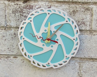 Recycled Bicycle Disc Brake Wall Clock