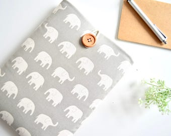 Elephants iPad Mini Case, iPad Mini 4 Case, iPad Mini Sleeve, Galaxy Tab Case, Galaxy Tab Sleeve - Elephants