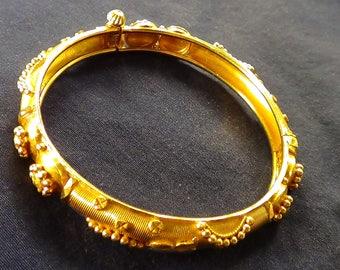21 CT Gold Saudi Hand Made Bracelet