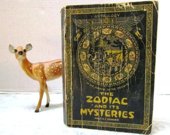 Vintage Book/ Manual The Zodiac and Its Mysteries: A Study of Planetary Influences Upon the Physical, Mental & Moral Nature of Mankind 1916