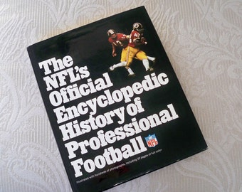 "Vintage Book Sports Book ""NFL Official Encyclopedia History of Professional Football"""