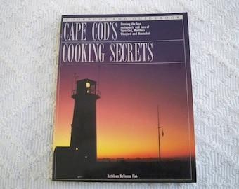 "Vintage Cookbook ""Cape Cod Cooking Secrets"" Coastal Inn Recipes"