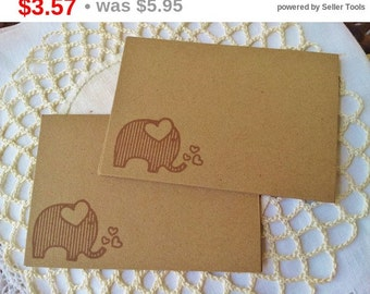 SALE Elephant Place Cards Food Buffet Label Tags Birthday Baby Shower Set of 10