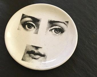 Vintage Fornasetti Milano Italy Tema E Variazioni No. 8 Woman's Face