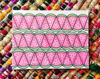 Watermelon Card (blank)