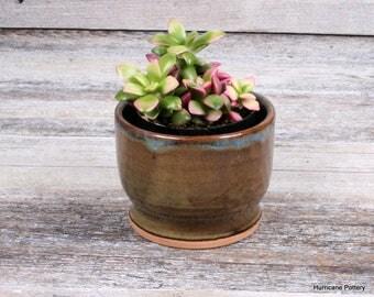 Succulent Planter. Hand thrown Ceramic Accent Bowl, Ceramic Planter, Storage and Organizing Pottery Bowl, Condiment Bowl, Succulent Pot