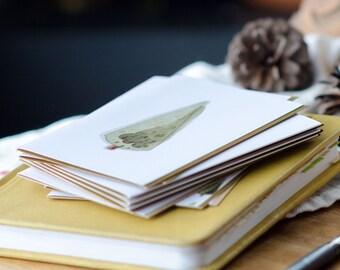 Christmas Card - Christmas Tree Greeting Card -