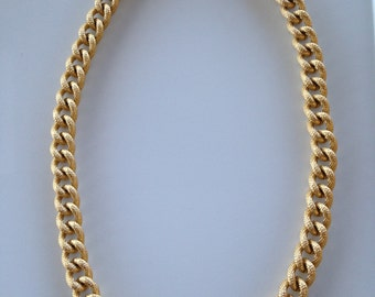 Vintage Anne Klein Chain Link Necklace