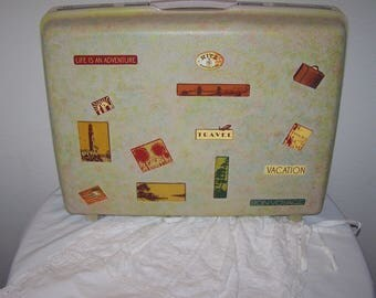 vintage  suitcase  remade