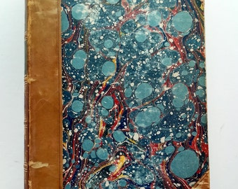 Beautiful Antique Book 1800's James Mackintosh