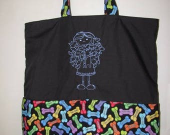 Crazy Dog Lady Eco Friendly Tote Bag Shopping Bag