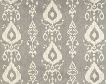 Pillow Cover - Tullahoma Marble ikat - Tribal print - Grey decor cover - Cushion Cover