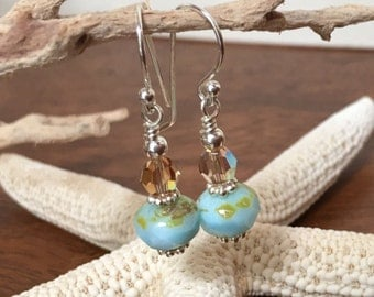 Beachy Baubbles dangle earrings