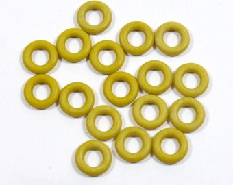 7.25mm Sumac Rubber O-Rings for 5mm Leather - Choose Your Quantity