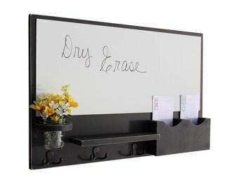 Mail Organizer - White Board Mail Organizer - Large White Board - Mail Holder - Letter Holder - Jar Vase -