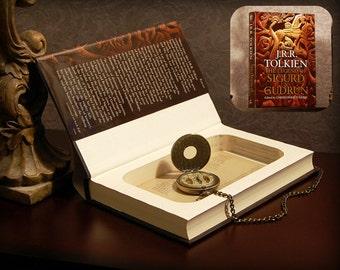 Hollow Book Safe - J.R.R. Tolkien's The Legend of Sigurd and Gudrún - Secret Book Safe