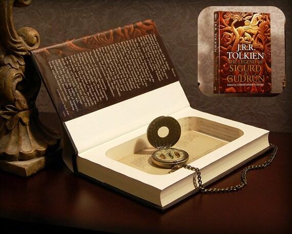 Hollow Book Safe (J.R.R. Tolkien's The Legend of Sigurd and Gudrún)