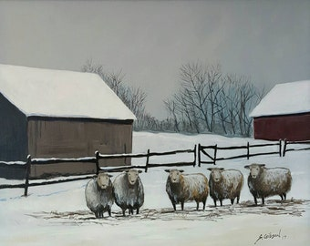 Oleta Rolling's Sheep Farm #3
