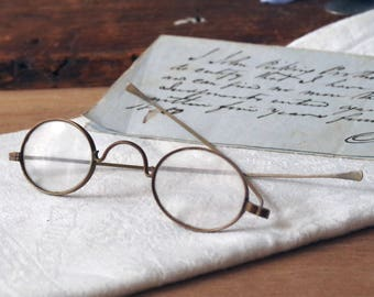 Antique Eyeglasses Wire Rim SPECTACLES