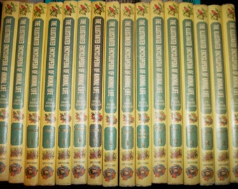The Complete Encyclopedia of Animal Life in 16 Volumes