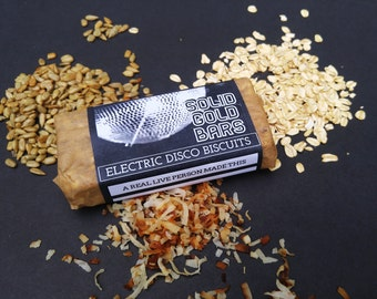 24 SUNFLOWER SEED & COCONUT - Individually Wrapped Organic Granola Bars - Made to Order