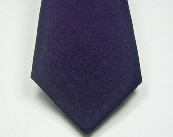 Purple Neckties Mens Neckties Purple Linen Neckties Wedding Neckties Mens Neckties Custom Neckties Mens Neckties
