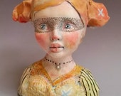 Love Thief ceramic head cup by Victoria Rose Martin
