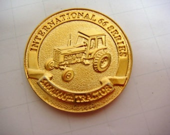 International Harvester 66 Series Commemorative Coin 5 Millionth Tractor