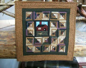 Cabin in the Woods Wall Hanging (Item # 130)